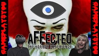 AFFECTED - CARNIVAL | Oculus Rift Horror | SCARY AS HELL! (Reaction)