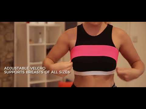 740f7a177a3 Booband Asset Protection Breast Support Band for Active Women The Sports  Bra Alternative