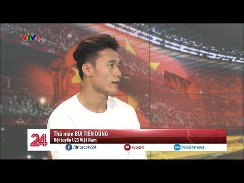 """Bùi Tiến Dũng: """"Em đã khóc rất nhiều khi từ bỏ bóng đá để phụ giúp gia đình""""  - Tin Tức VTV24"""
