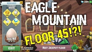 Eagle Mountain Floor 45 Reached!!! | Angry Birds Evolution