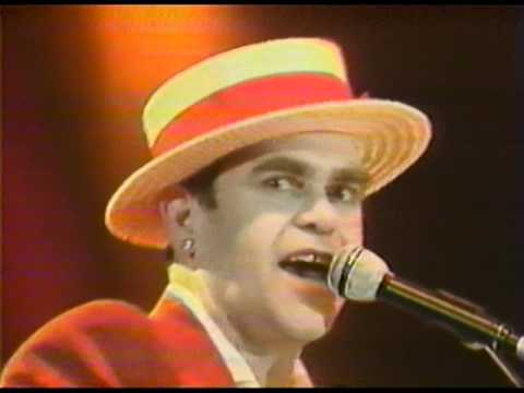 Elton John - Goodbye Yellow Brick Road - Wembley 1984 (HQ Audio)