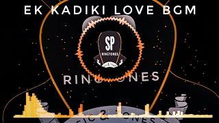 South Instrumental Ringtone 2019 || Ek Kadiki Love BGM South Movie Ringtone