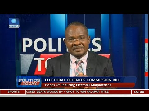 Electoral Commission Bill Will Help Reduce The Cost Of Election In Nigeria - Clement Nwankwo Pt.1