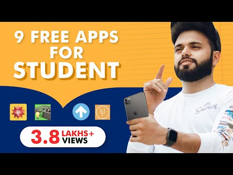 9 Apps Every Indian Student Must Have | Rishi Arora |