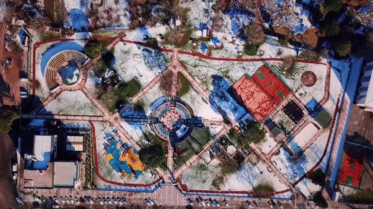 Biga havadan görüntüleri