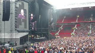 Billy Joel Old Trafford Manchester Glad All Over