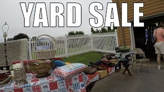 Yard Sales and Garage Sales are DEAD for the Season - Invest Elsewhere