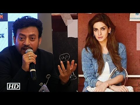 "Thumbnail: Irrfan REACTS | Pak actress Saba Miss ""Hindi Medium"" Trailer launch"