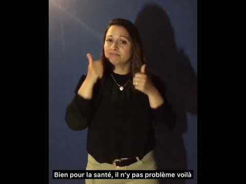 Peinture écologique dijon (21)  dans la langue  des signes française