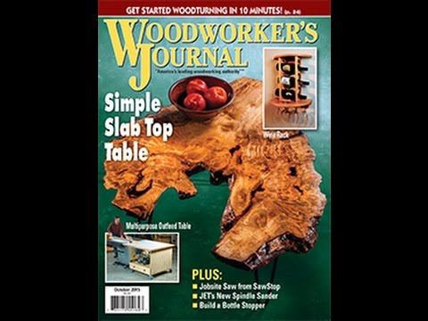 Woodworker's Journal - September/October 2015 Issue Preview