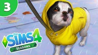 IT'S RAINING!!! ☔   EP.3   THE SIMS 4 SEASONS