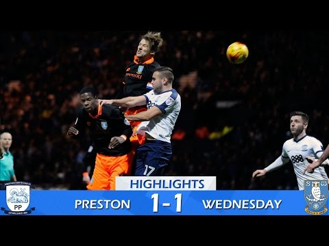Preston North End 1 Sheffield Wednesday 1   Extended Highlights   2016/17