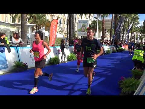 Marathon Nice - Cannes 2017 finish line