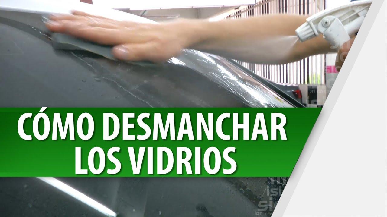 Cómo Limpiar Los Vidrios Del Carro Cosmovision Youtube
