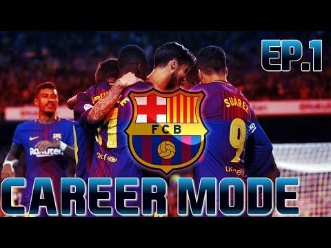 FIFA 18 | FC Barcelona Career Mode - Episode 1 | El Clásico