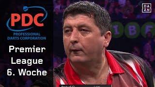 Suljovic deklassiert Wright! Cross mit Krimi gegen Smith | Highlights | PDC Premier League | DAZN