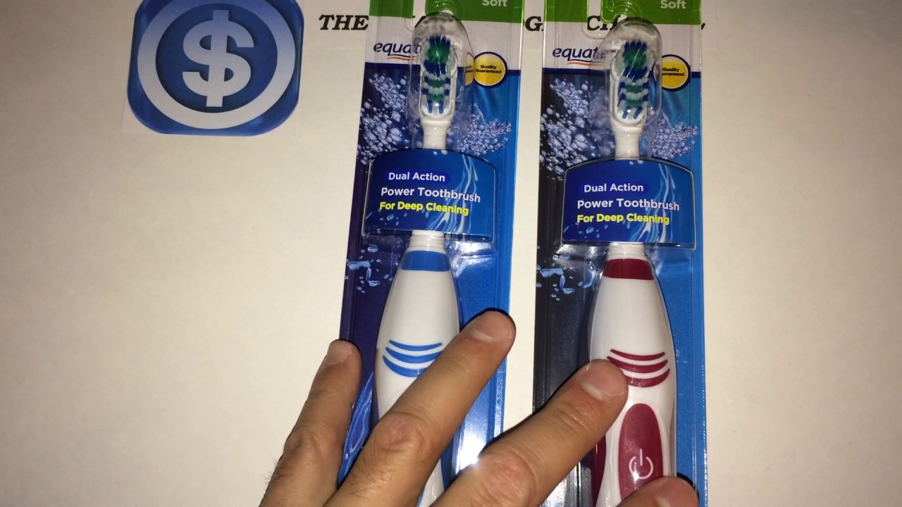 Equate Dual Action Power Toothbrush Review Walmart Item YouTube