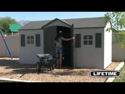 Lifetime Gerätehaus Garten Villa Produktvideo | ENGLISCH | Clemens