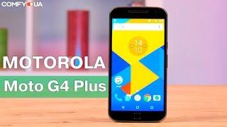 Motorola Moto G4 Plus (XT1642) - смартфон с быстрой зарядкой - Видео демонстрация