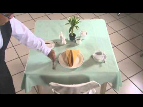 Setting the Table(Breakfast) - YouTube