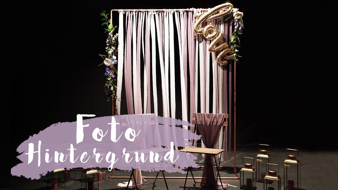 Diy Fotohintergrund Fur Hochzeiten Foto Backdrop Eileena Ley