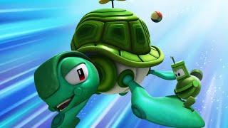 Марин и его друзья - Альто и черепаха - Подводные истории - Мультики про океан и подлодки!