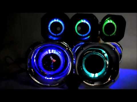 4bf8bd7a0 Cornetas LED - Som Automotivo - Mercado Livre - YouTube