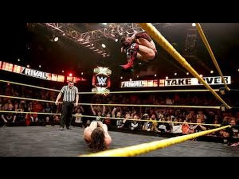 WWE Finn Balor's best Coup de Grace's Diving Double Foot Stomp