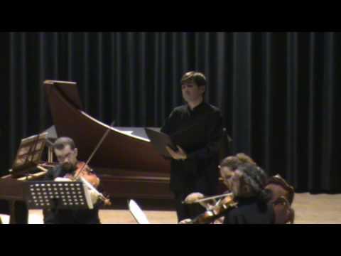 Nikos Spanatis Countertenor / Concert In Venice / Pergolesi Stabat Mater / Eja Mater / April 2009