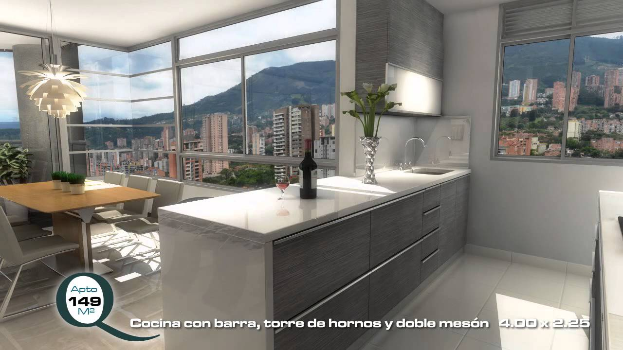 Venta de Apartamentos en Medelln AQUAVIVA 149 m  YouTube