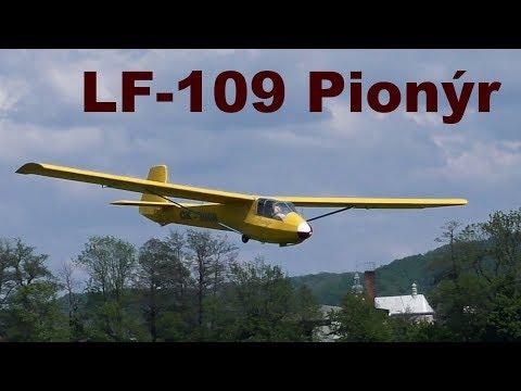 LF-109 Pionyr, Scale RC Glider, 2019