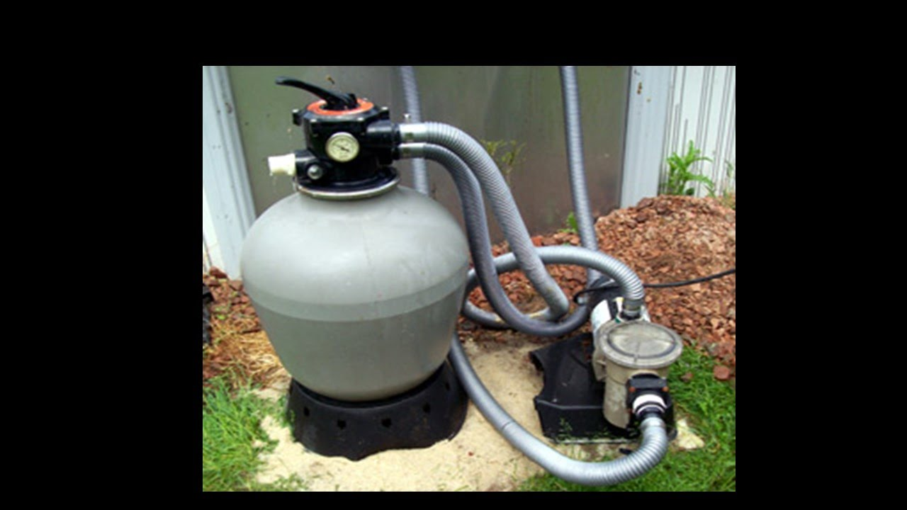 Pool Filter Hook Up