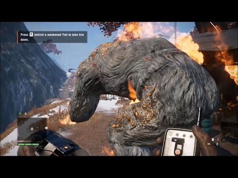 Far Cry 4 - Yeti Editor Mod: