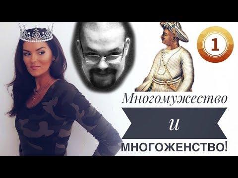 Ежи Сармат обозревает видео Вероники Степановой про многоженство и многомужество (часть 1)