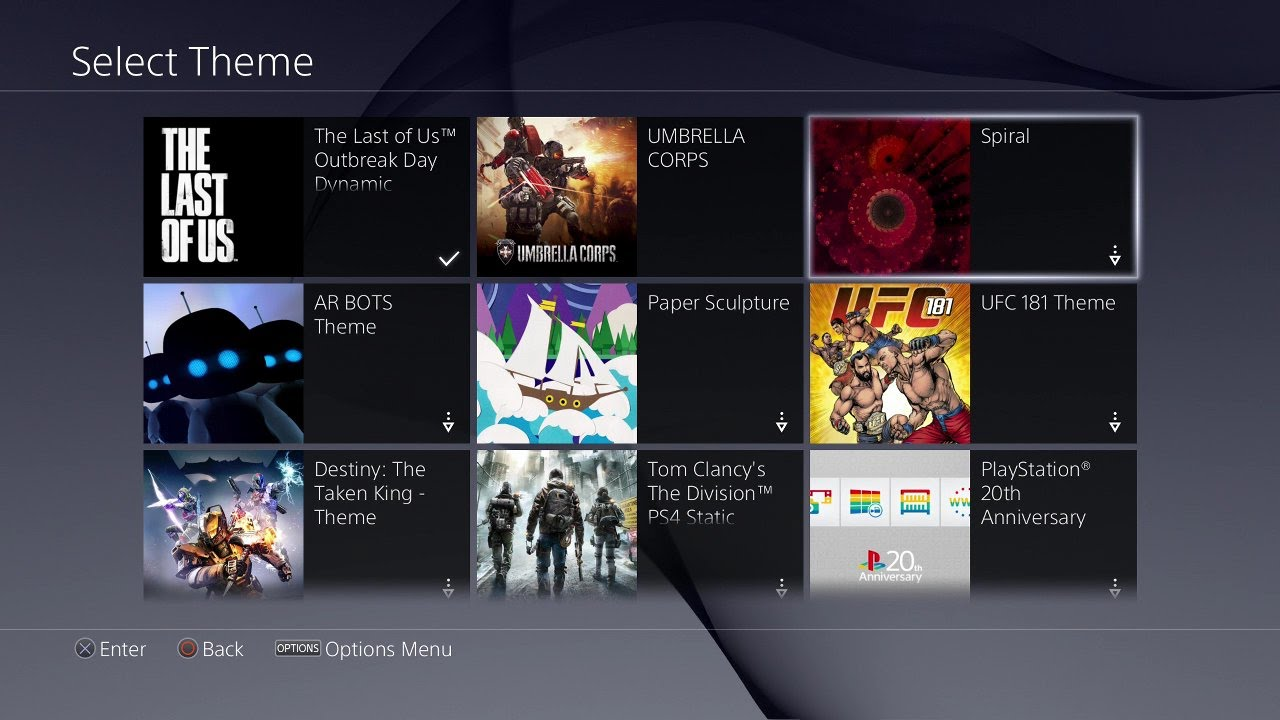How Enable and Disable Themes on The PS4