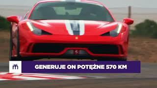 Jazda Ferrari F458 Italia jako pasażer – Tor Trzyniec video