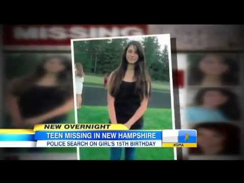 ▶ 15 yr Old Teen Abigail Hernandez Missing In New Hampshire  Last Phone Call Tracked to Ski Resort