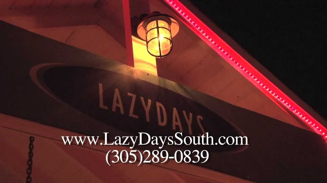 Lazy Days Restaurant South   Marathon Florida   a Conch Records 18 minute  video commercial