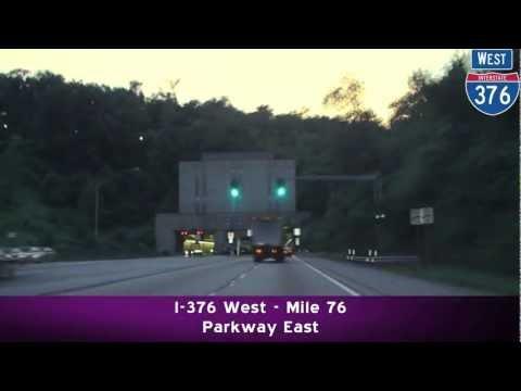 I-376 & More at Dusk: Pittsburgh, PA