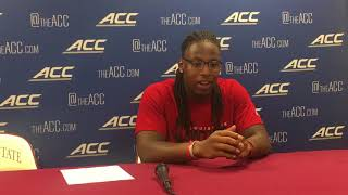 Louisville's Dae Williams after win over Florida State