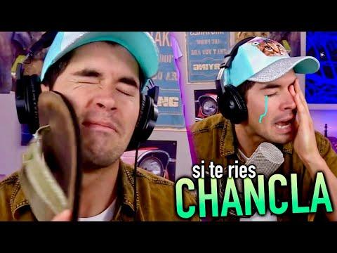 Si Te Ries TE LLEGA LA CHANCLA !!