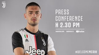 MERIH DEMIRAL'S JUVENTUS PRESS CONFERENCE