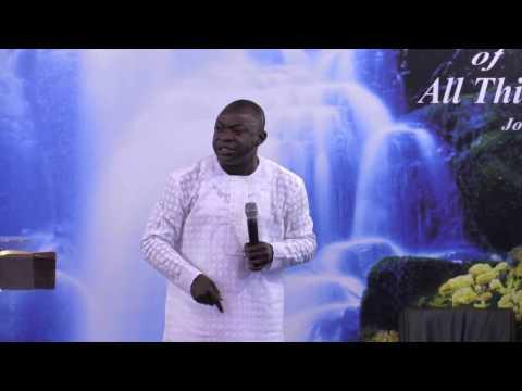 GIVING GOD PRIORITY BY  PASTOR HONOUR O  JOSEPH