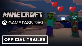 Minecraft - Official Game Pass For PC Announcement Trailer