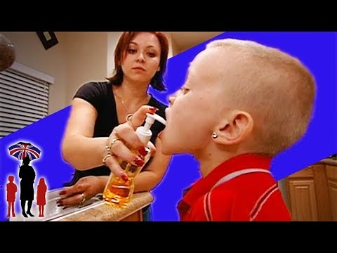 Mother Learns that Putting Soap in Kid's Mouth is not Right | Supernanny