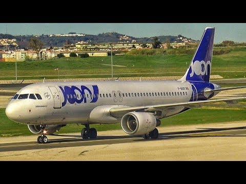 JOON Airbus A320 FLIGHT REPORT Lisbon To Paris