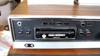 Vintage Panasonic RS-806US 8-Track Tape Player / Recorder