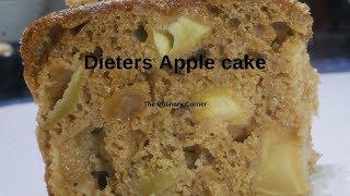Dieters Apple cake
