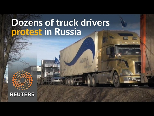 Truck drivers demonstrate in latest protests to hit Russia