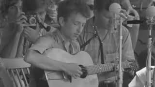 Bob Dylan - North Country Blues Live 1963 Newport Folk Festival
